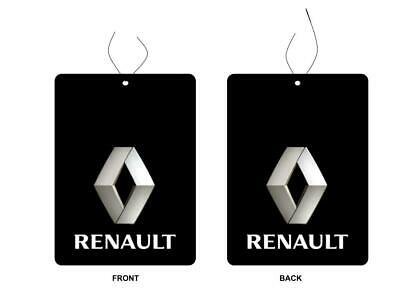 Renault Car Logo Air Freshener Double Sided (BUY 3 GET 1 FREE)