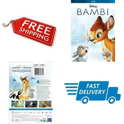 Bambi DVD Disney Signature Collection 2017 Format Animated Color Dolby Brand NEW