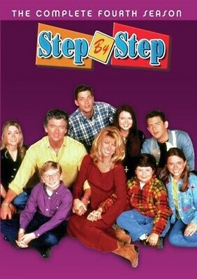 STEP BY STEP TV SERIES COMPLETE FOURTH SEASON 4 New Sealed DVD