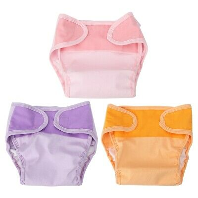 1 *Cotton Cloth Diaper Waterproof Washable Reusable Breathable for Baby Infant