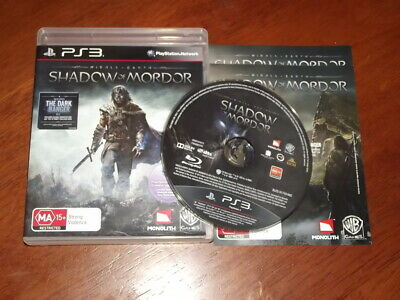 Middle Earth: Shadow of Mordor (PS3) [PAL] - WITH WARRANTY