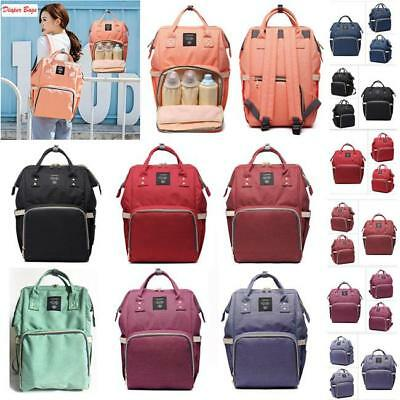 Mummy Backpack Baby Diaper Nappy Backpack Multifunctional Mommy Bag Changing L