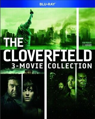 THE CLOVERFIELD 3 MOVIE COLLECTION New Blu-ray Cloverfield + 10 Lane + Paradox