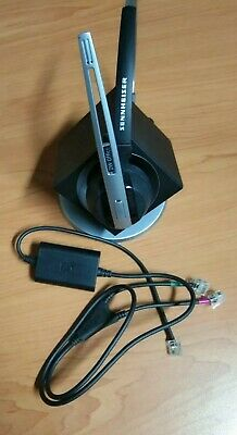 Sennheiser DW 10 - DW Office - DECT Wireless Office Headset with Power Cable