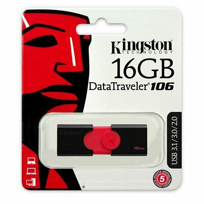 Cle usb 16go Kingston clef usb 16 go DataTraveler 106 DT106 USB 3.1