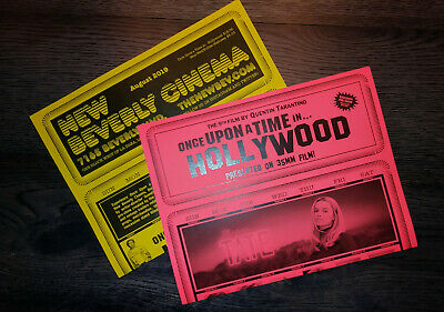 ONCE UPON A TIME IN HOLLYWOOD | New Beverly Cinema Calendars