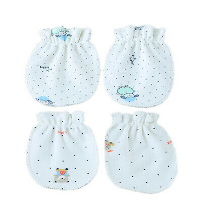 Baby Anti Scratch Gloves Cotton Soft Hand Guard Protect Newborn Care Accessories