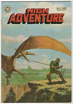 High Adventure #1   (Kitchen Sink 1973)     VFN