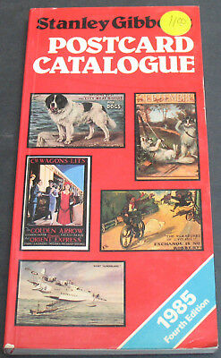 Vintage - Stanley Gibbons Post Card Catalogue 1985 Erotic, Military +++