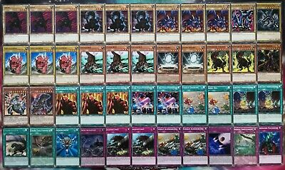 REX RAPTOR-DINOSAURIER BATTLE CITY TV ANIME DECK-Tyranno,Uraby,König Yu-Gi-Oh