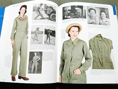 """""""women For Victory Vol 2"""" Us Ww2 Waac Army Hat Jacket Skirt Dress Reference Book"""