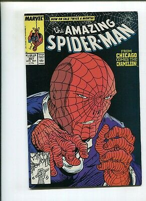 Amazing Spiderman #307 (Nm-) The Thief Who Stole Himself! 1988