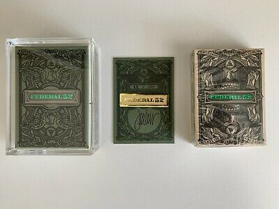 Federal 52 Letterpress 2nd Edition Playing Cards  // Kings Wild Project [Lot #7]