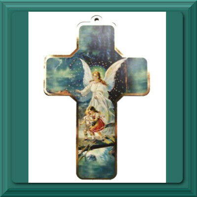 ✝️ Catholic Crucifix ✝️ Wall Cross St Saint Gabriel Archangel Guardian Angel NEW