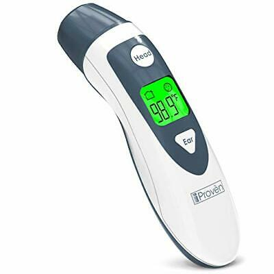 Proven Dual Mode Thermometer Ear And Head Function Adult Kids High Accuracy