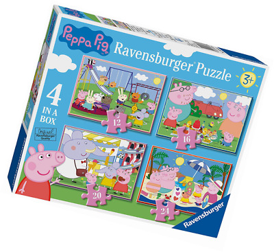 Ravensburger – Peppa Pig Puzzle 4 in 1 Box