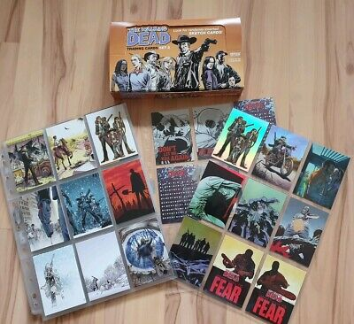 The Walking Dead Comic. Trading Cards Series 2. Complete Set. Plus Extras