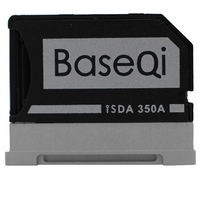 BASEQI Aluminum MicroSD Adapter for Microsoft Surface Book & Surface Book 2 Book