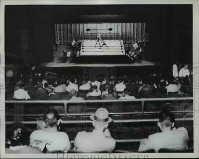 1959 Press Photo Professional Boxing Is Being Promoted In A New York