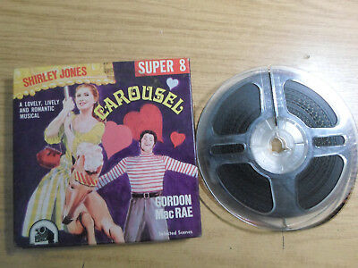 Super 8mm sound 1x200 CAROUSEL. Gordon MacRae, Shirley Jones musical.