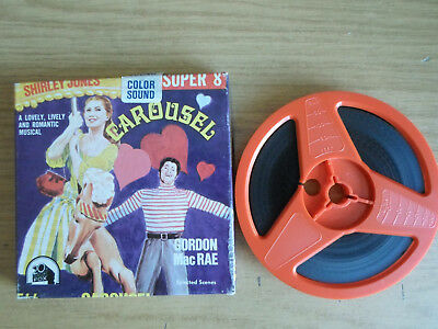 Super 8mm sound 1x200 CAROUSEL. Shirley Jones musical classic.