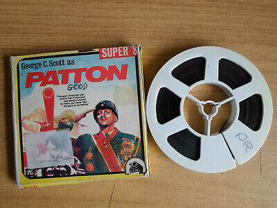 Super 8mm sound 1X200 PATTON. George C Scott classic.