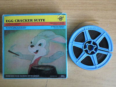Super 8mm sound 1X100 EGG CRACKER SUITE. Universal musical cartoon.