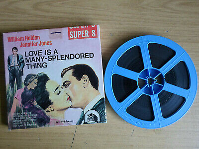 Super 8mm sound 1x400 LOVE IS A MANY SPLENDORED THING. Jennifer Jones classic.