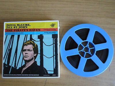 Super 8mm sound 1X200 THE PIRATES HAVEN. Doug McLure adventure classic.