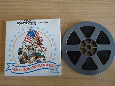 Super 8mm sound 1X200 AMERICA ON PARADE. Walt Disney documentary.