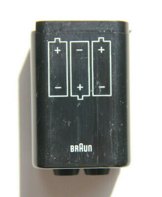 Braun Nizo Super 8 Batterie-Box Battery-Box 6x 1,5V Battery Holder 561 6080 4056