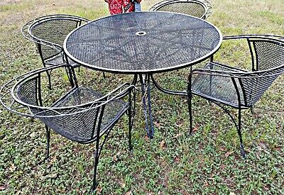 Wrought Iron Patio Furniture Vintage.Wrought Iron Patio Furniture Vintage