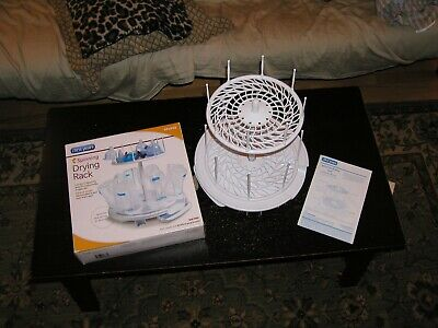 First Years Spinning Drying Rack Baby Bottles Cups -- NEW IN BOX, UNUSED