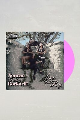 Lana Del Rey Norman Fucking Rockwell Urban Outfitters Pink Vinyl RARE LP NFR