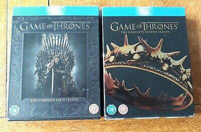 Game of Thrones Complete Seasons 1-2 Blu-ray