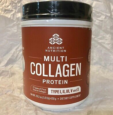 Dr. Axe Ancient Nutrition Multi Collagen Protein Powder Exp 12/2020 Brand New FS