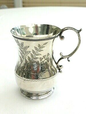 Art Deco Silver Plated Jug With Etched Floral Pattern & Beaded Rim   1460871/875