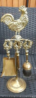 Cockerell Brass Fire Ornaments companions in fabulous conditions and stunning