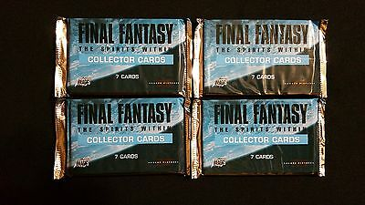 Final Fantasy THE SPIRITS WITHIN Complete HOLOFOIL Set