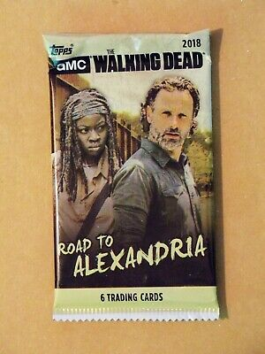 2018 Topps THE WALKING DEAD - ROAD TO ALEXANDRIA 200-Pack Lot