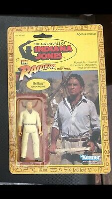Indiana Jones Belloq Raiders Of The Lost Ark Kenner 1982 Vintage Partially Open