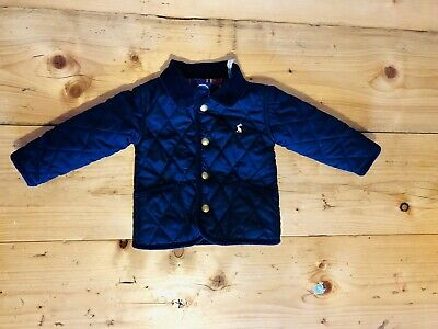 22f0e3d6c JOULES MILFORD QUILTED jacket in navy 9-12 months - £2.50 | PicClick UK