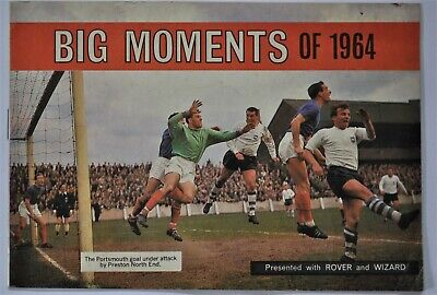 Rover & Wizard Comic Free Gift - Booklet - Big Moments Of 1964 - Football  Rugby