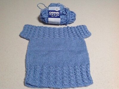 Hand Knitted Vest - Newborn to 9 months approx.