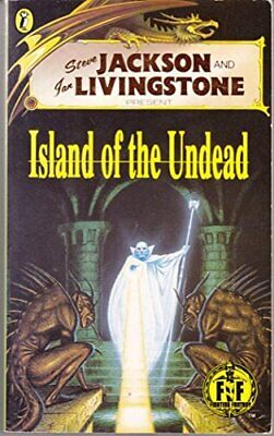 Island of the Undead: Fighting Fantasy No. 51 (F... by Livingston, Ian Paperback
