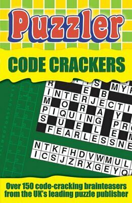 """""""Puzzler"""" Code Crackers (Puzzles) Paperback Book The Cheap Fast Free Post"""