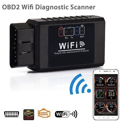ELM327 OBDII OBD2 WiFi Car Diagnostic Wireless Scanner Tool Android iPhone iO 21