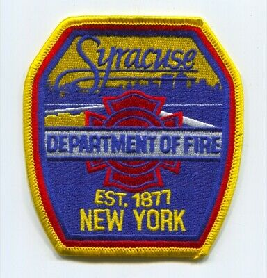 Syracuse Department of Fire Patch New York NY v2