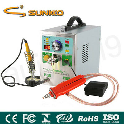 SUNKKO 709AD+ Pulse Spot Welder Welding Soldering Machine 1.9KW 4in1 for Battery