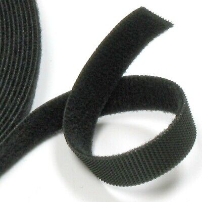 VELCRO® ONE-WRAP® - Double Sided - Reusable - Black - 1mt X 25mm